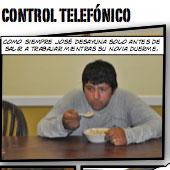 control telefonico